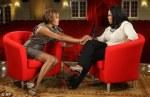 Whitney Houston and Oprah